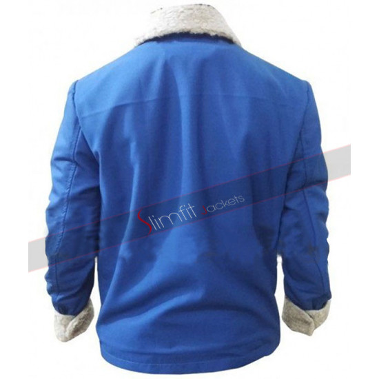 The Drop Movie Tom Hardy Blue Jacket