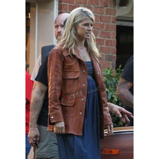 Lucy Seal American Made Brown Leather Jacket