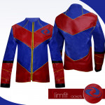 Ray Manchester Captain Man Leather Jacket Costume
