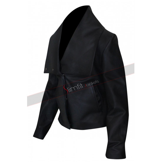 Colombiana Cataleya Restrepo Biker Leather Jacket