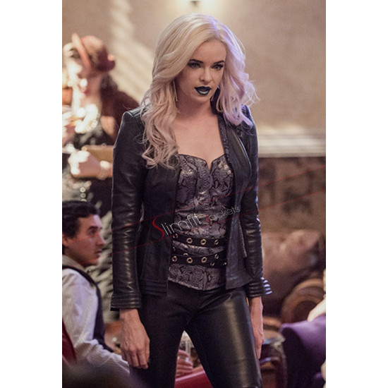 Danielle Panabaker Welcome to Earth 2 Black Jacket