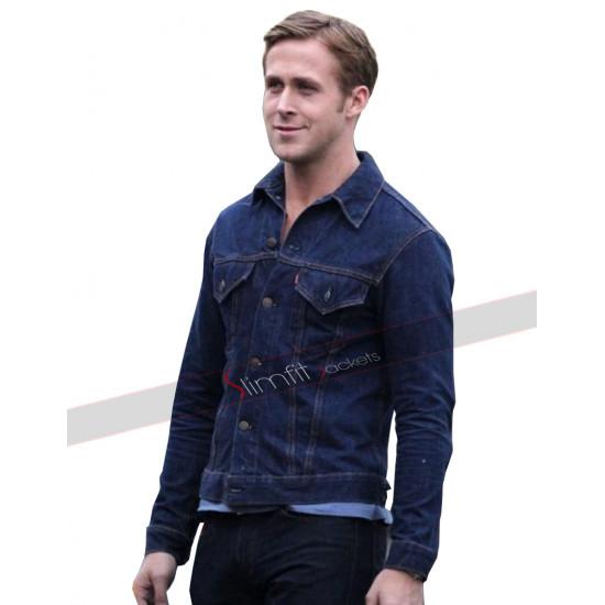 Drive Ryan Gosling (Driver) Denim Jacket