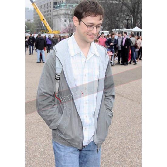 Joseph Gordon-Levitt Snowden Jacket
