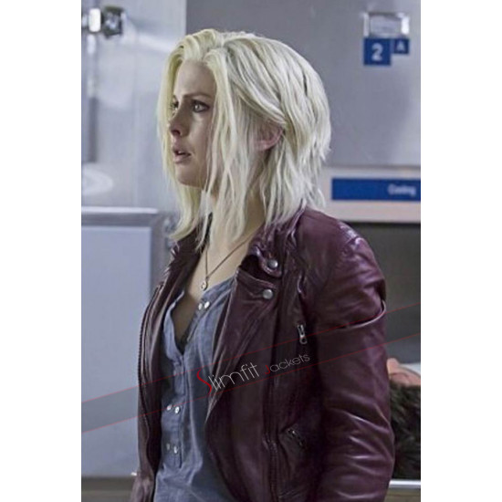 Izombie Season 3 Liv Moore Maroon Biker Jacket