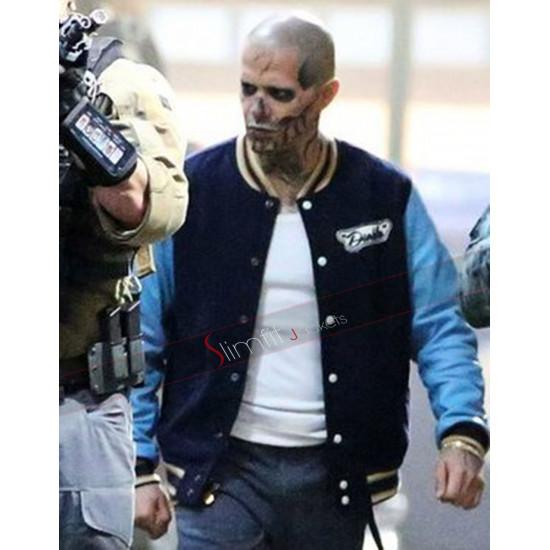Suicide Squad Jay Hernandez Letterman Jacket