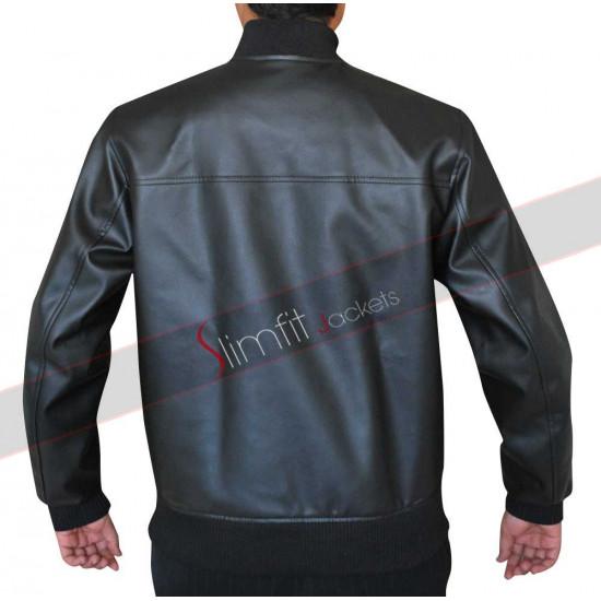 Movie Neighbors Zac Efron (Teddy Sanders) Leather Jacket