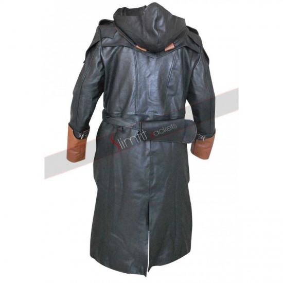 Assassin's Creed Unity Arno Dorian Leather Coat Costume
