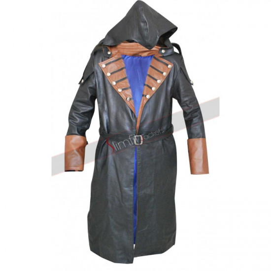Assassin S Creed Unity Arno Dorian Leather Coat Costume