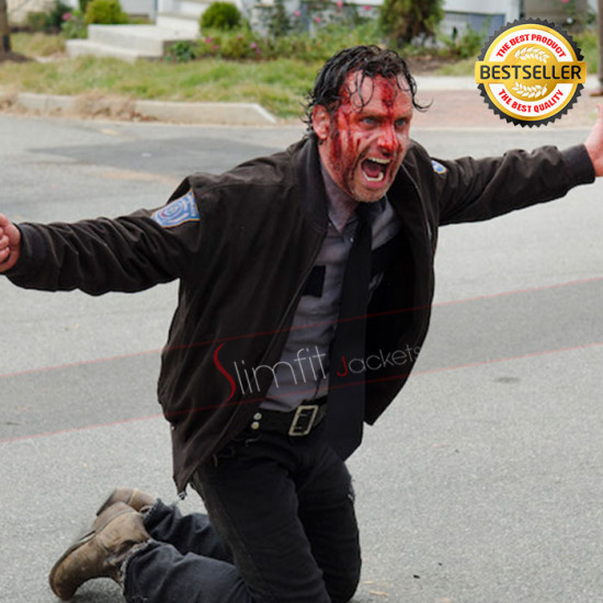 Walking Dead S6 Andrew Lincoln (Rick Grimes) Jacket