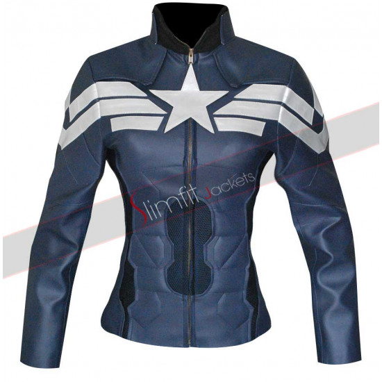 Captain America Winter Soldier Women Jacket