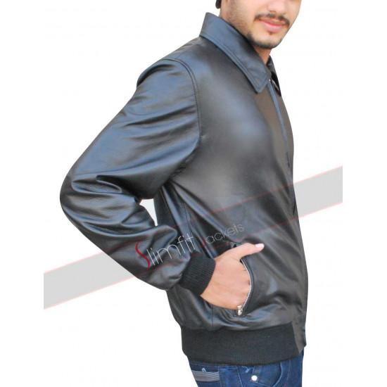 Stephen Amell Arrow S3 Oliver Queen Black Jacket
