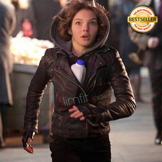 Camren Bicondova Gotham S2 Biker Jacket
