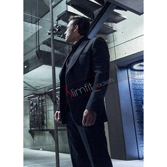 Batman V Superman Bruce Wayne Black Lapel Suit