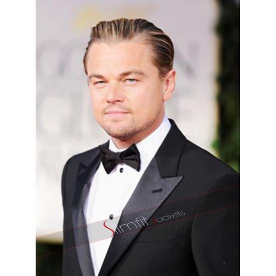 Leonardo Dicaprio The Great Gatsby Black Suit