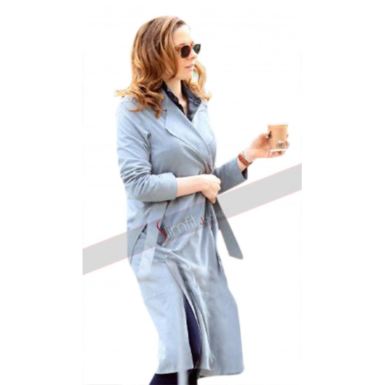 Mission Impossible Fallout Rebecca Ferguson Ilsa Faust Grey Coat