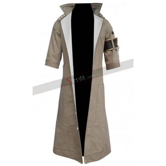 Final Fantasy XIII Snow Villiers Coat Cosplay Costume