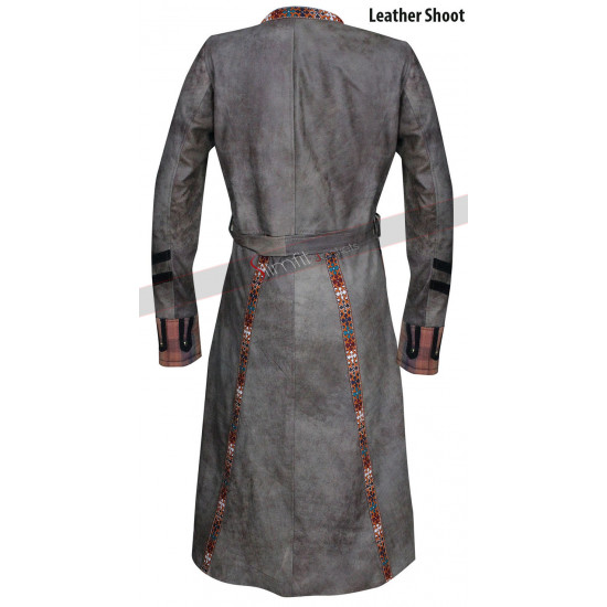 Anne Bonny Black Sails S3 Leather Trench Coat