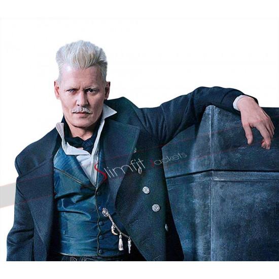Fantastic Beasts Crimes of Grindelwald Johnny Depp Coat