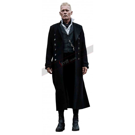 Fantastic Beasts Crimes of Grindelwald Johnny Depp Coat