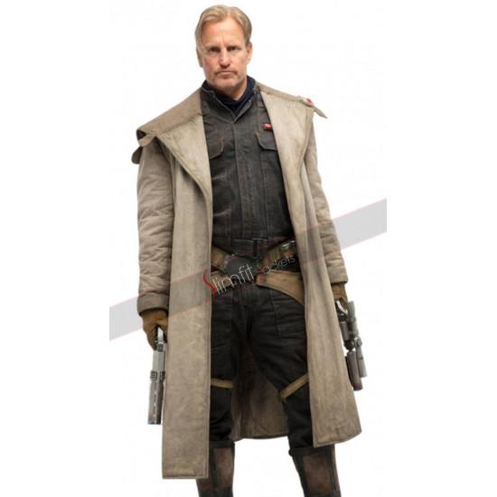 Solo A Star Wars Story Tobias Beckett Woody Harrelson Coat