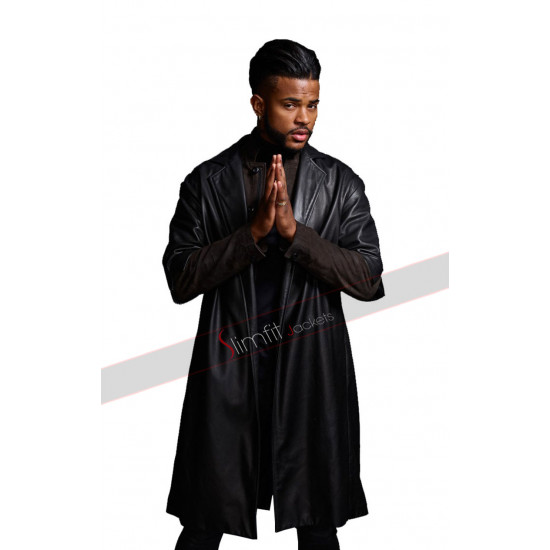 SuperFly Trevor Jackson Youngblood Priest Trench Coat
