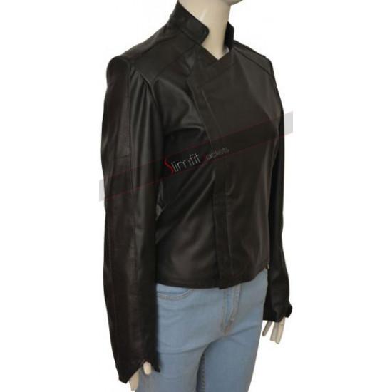 Jessica Lucas Gotham Tabitha Galavan Black Jacket