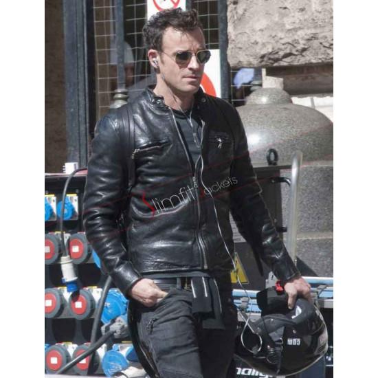 Justin Theroux Zoolander 2 Black Biker Jacket