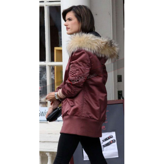 Alessandra Ambrosio Daddys Home 2 Pink Jacket