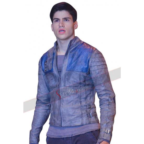 Cameron Cuffe Krypton Seyg-El Leather Jacket