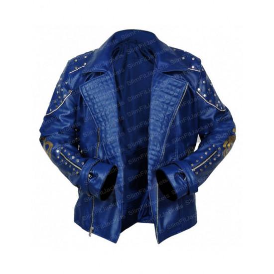 Descendants 2 Mitchell Hope (King Ben) Blue Jacket