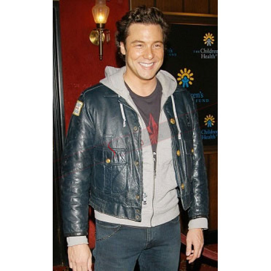 Rocco DiSpirito Star Wars Revenge of the Sith Leather Jacket