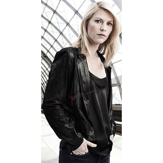 TV Series Homeland Season 5 Carrie Mathison Black Jacket