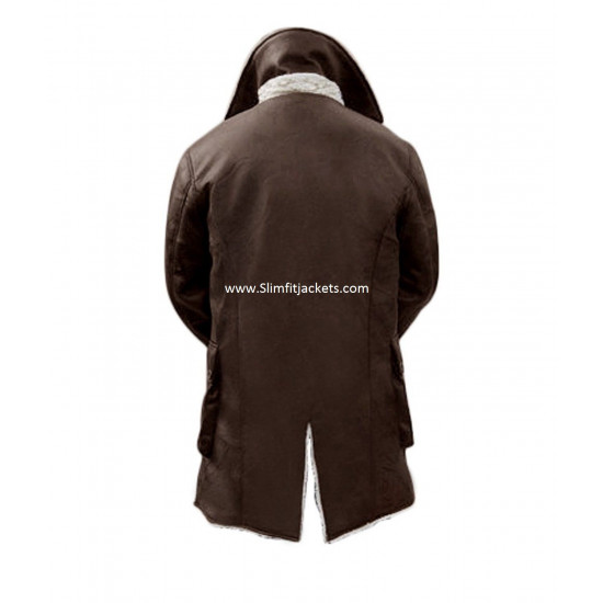 Dark Knight Rises Bane Antique Brown Trench Coat
