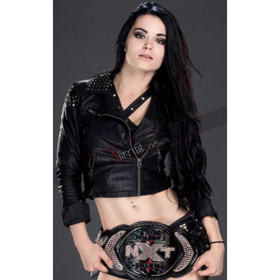 Diva Paige Britani Black Knight Leather Jacket