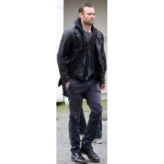 Eric Johnson Fifty Shades Darker Leather Jacket