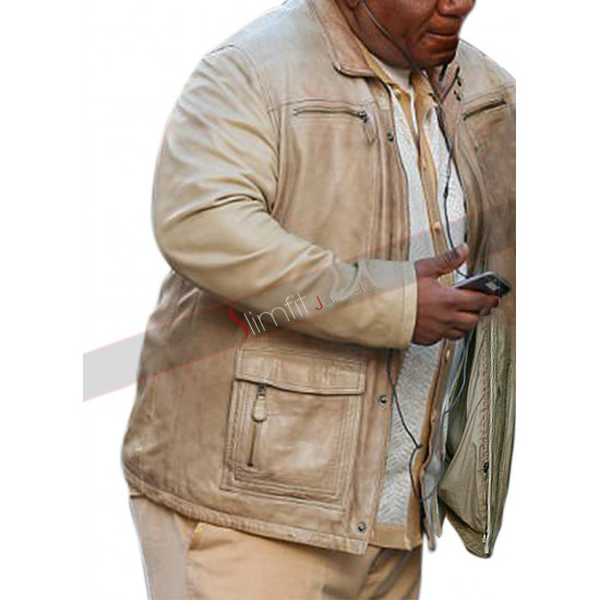 Ving Rhames Mission Impossible 6 Luther Stickell Leather Jacket