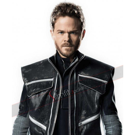 Iceman X-Men Days of Future Past Leather Jacket