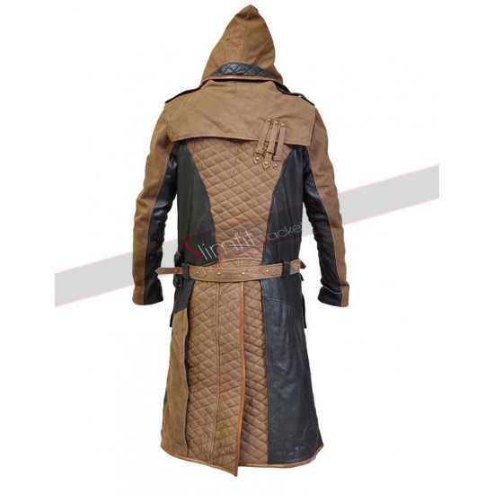 Assassin's Creed Syndicate Jacob Frye Hooded Coat