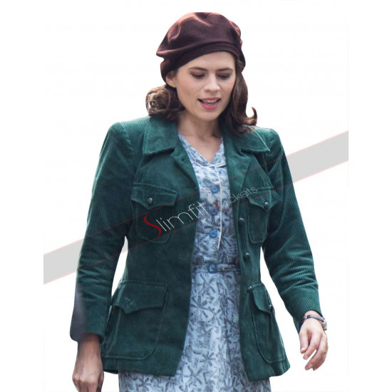 Christopher Robin Hayley Atwell Evelyn Robin Green Jacket