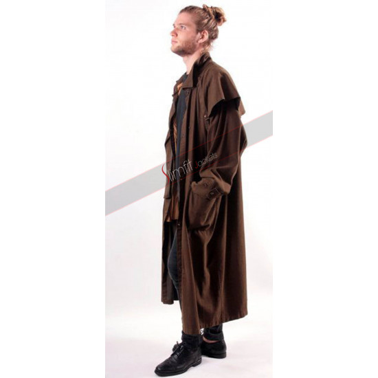Marlboro Classics Vintage Steampunk Men Long Coat