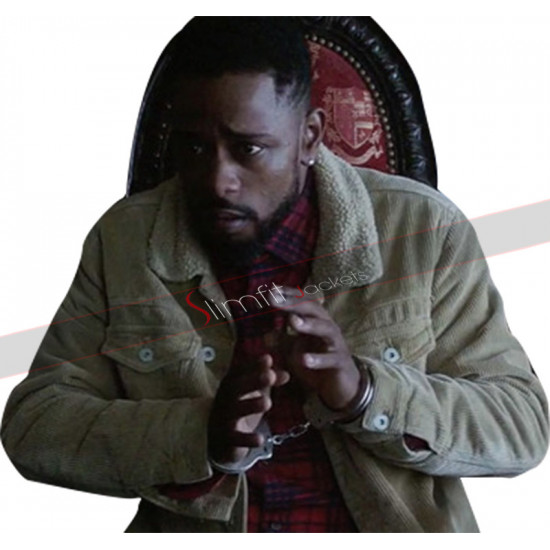 Atlanta Darius (Lakeith Stanfield) Fur Collar Beige Jacket