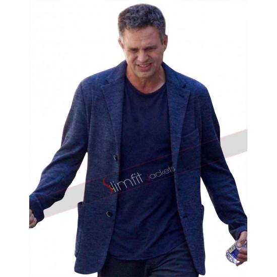 Avengers Infinity War Mark Ruffalo Wool Jacket Coat