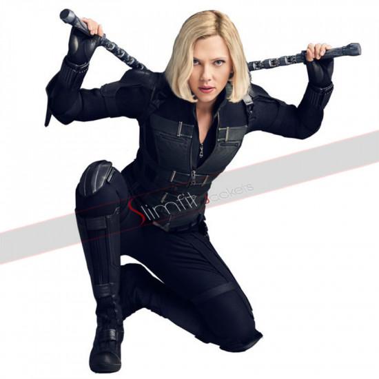 Black Widow Avengers Infinity War Scarlett Johansson Costume Vest