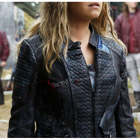 Eliza Taylor The 100 Clarke Griffin Leather Jacket