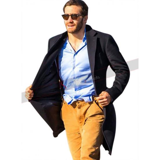 Demolition Davis Mitchell Jake Gyllenhaal Black Wool Coat