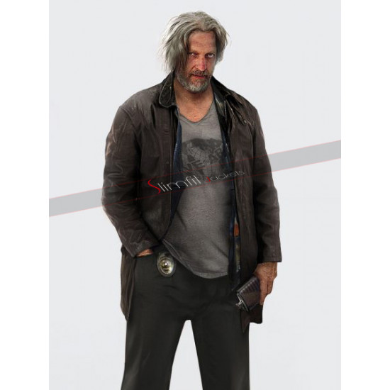 Hank Anderson Detroit Become Human Clancy Brown Jacket