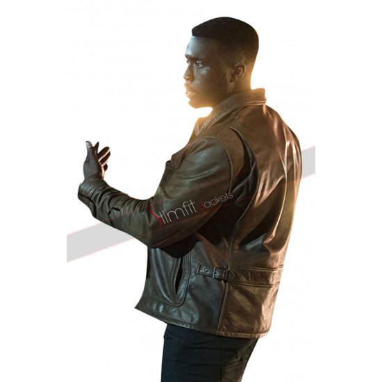 The First Purge Dmitri Y'lan Noel Brown Leather Jacket