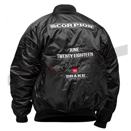 Aubrey Drake Graham Scorpion Twenty Eighteen Bomber Jacket