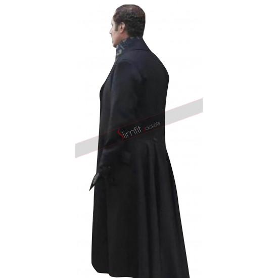 Will Ferrell Sherlock Holmes and Watson Trench Wool Coat