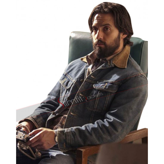 Milo Ventimiglia This Is Us Jack Pearson Jacket